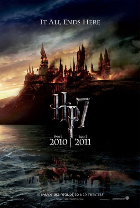 teaser poster de Harry Potter VII
